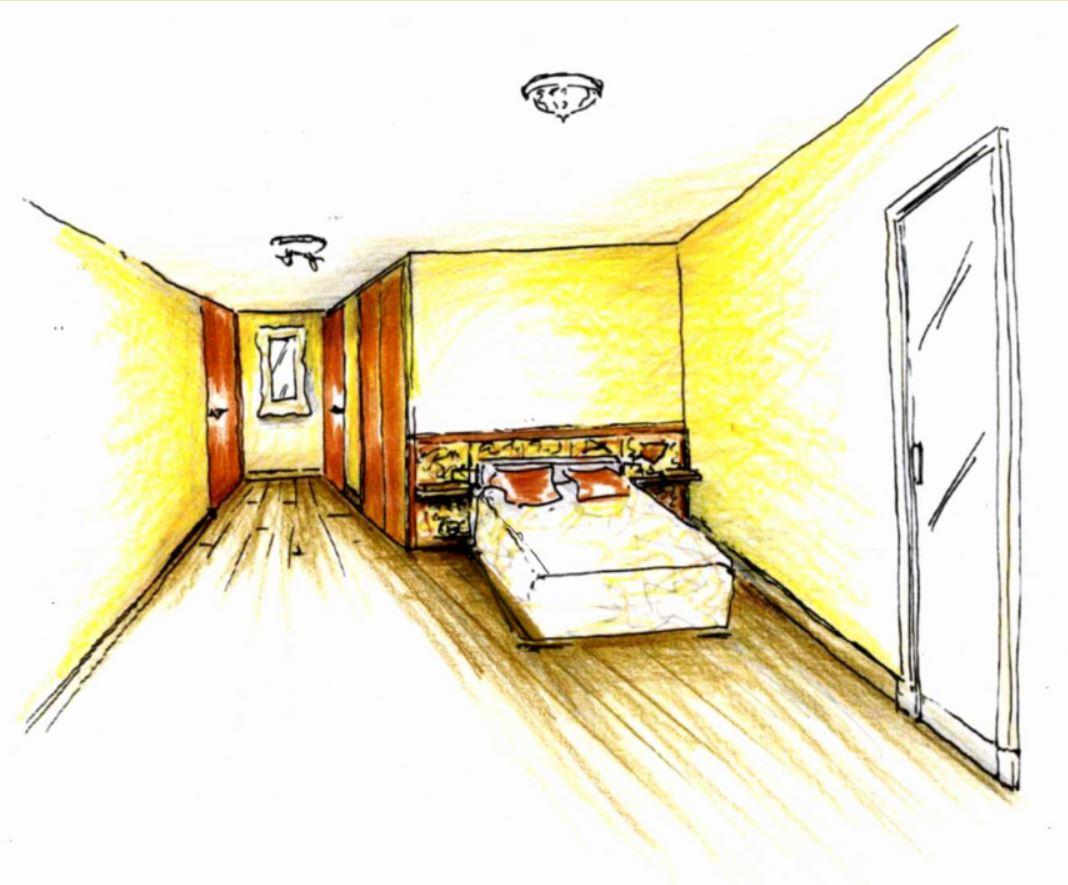 Projet – Aménagement d'une chambre